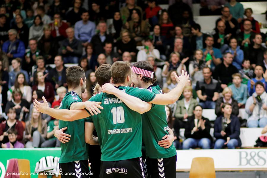 Volleyball. TSV Giesen GRIZZLYS am Samstag 25.03.2017