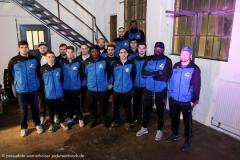 Football. 1. Bundesliga. Hildesheim Invaders. Teampräsentation 24.03.2017